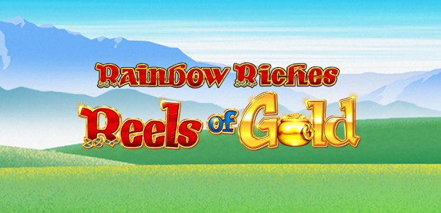 Rainbow Riches: Reels of Gold is the latest release from the hugely popular online slot machine series.